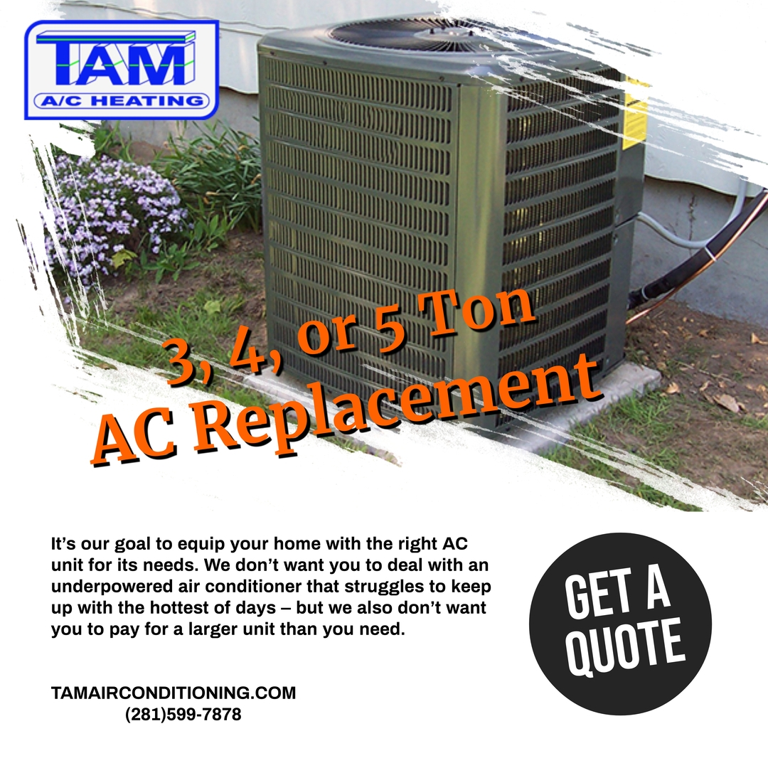 5 ton ac replacement