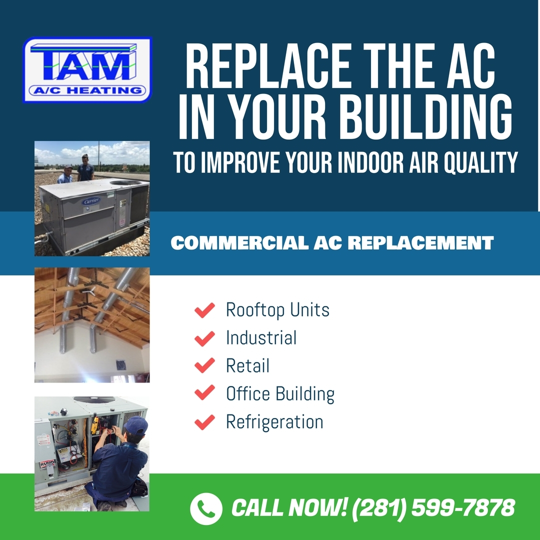 commercial ac replacement